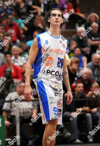 2012-09-15 / Basketbal / seizoen 2012-2013 / Kangoeroes-Boom / Kristof De Wit..Foto: Mpics.be