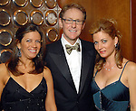 From left: Jessica Candela, Jeff Majewski and Karen Maley at the Houston Children's Charity Gala at the Hyatt Regency Saturday Oct. 24,2009. (Dave Rossman/For the Chronicle)