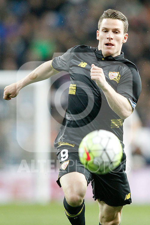 Sevilla's Kevin Gameiro during La Liga match. March 20,2016. (ALTERPHOTOS/Acero)