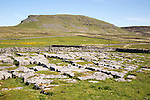 Carboniferous limestone scenery Pen Y Ghent, Yorkshire Dales national park, England, UK