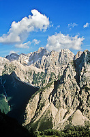 Julian Alps, Triglav National Park, above Pisnica Valley near Vrsic Pass, Kranjska Gora, Slovenia, AGPix_0551.