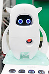 Robot Musio X on display during SoftBank Robot World 2017 on November 21, 2017, Tokyo, Japan. SoftBank Robotics organized SoftBank Robot World 2017 to introduce AI (Artificial Intelligence) and IoT (the Internet of Things) companies developing the latest technology for robots, including applications its humanoid robot Pepper in various business fields. The robot expo runs until November 22. (Photo by Rodrigo Reyes Marin/AFLO)