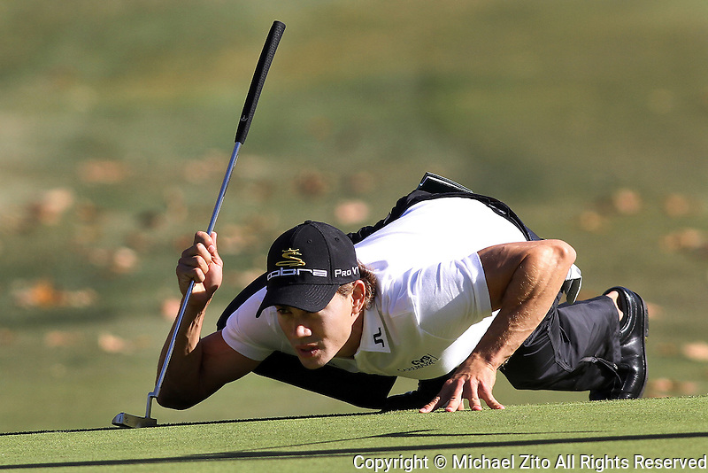 12/04/09 Thousand Oaks, CA:  Camilo Villegas during the 2nd round of the Chevron World Challenge held at Sherwood Country Club to benefit the Tiger Woods Foundation.