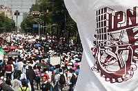 Estudiantes del #TodosSomosPolitecnico marchan