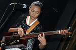 Kaohsiung -- A-Biang playing bass at the DC Stage.