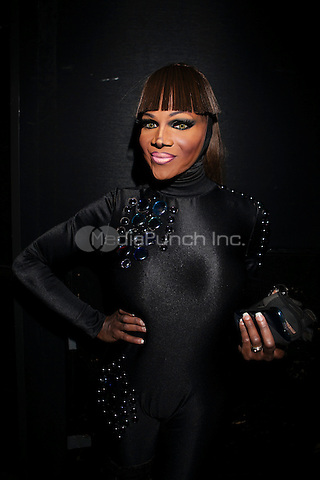 NEW YORK, NY - JANUARY 25: Coco Montrese  attends 'RuPaul's Drag Race' Season 5 Premiere Party at XL Nightclub on January 25, 2013 in New York City.  © Diego Corredor/MediaPunch Inc.