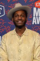 NASHVILLE, TN - JUNE 5: Leon Bridges attends the 2019 CMT Music Awards at Bridgestone Arena on June 5, 2019 in Nashville, Tennessee. (Photo by Tonya Wise/PictureGroup)