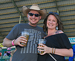 Kenny and Stacy during the Reno Rodeo Concert on Wednesday night, June 19, 2019.