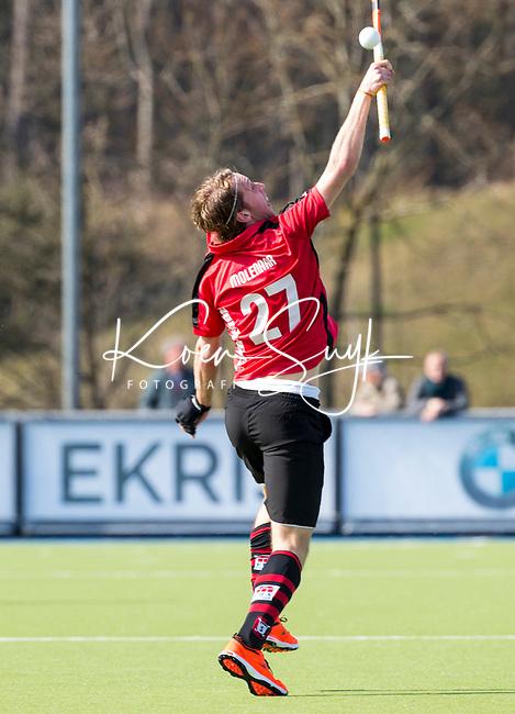 ZEIST - HOCKEY -  Floris Molenaar (Schaerw.)    tijdens de overgangsklasse competitiewedstrijd heren Schaerweijde-HDM (1-5).   COPYRIGHT KOEN SUYK