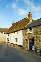 Tourist resort Sennen, Cornwall, Southernmost tip of England