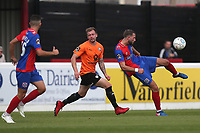 Luke Pennell of Dagenham and Redbridge during Dagenham & Redbridge vs Chesterfield, Vanarama National League Football at the Chigwell Construction Stadium on 15th September 2018