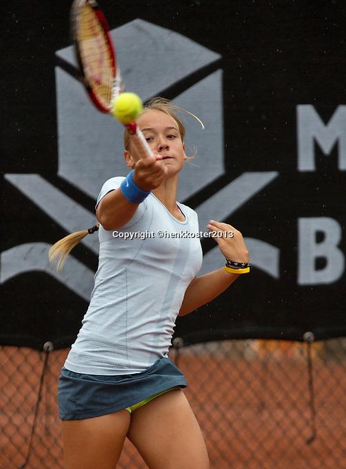 07-08-13, Netherlands, Rotterdam,  TV Victoria, Tennis, NJK 2013, National Junior Tennis Championships 2013, <br /> Judith van Kessel<br /> <br /> Photo: Henk Koster