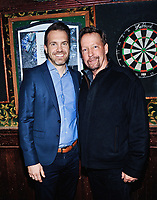 09 November 2019 - Hamilton, Ontario, Canada.  Actors Darrin Rose and D.B. Sweeney at the 14th annual Hamilton Film Festival at The Westdale Theatre. Photo Credit: Brent Perniac/AdMedia