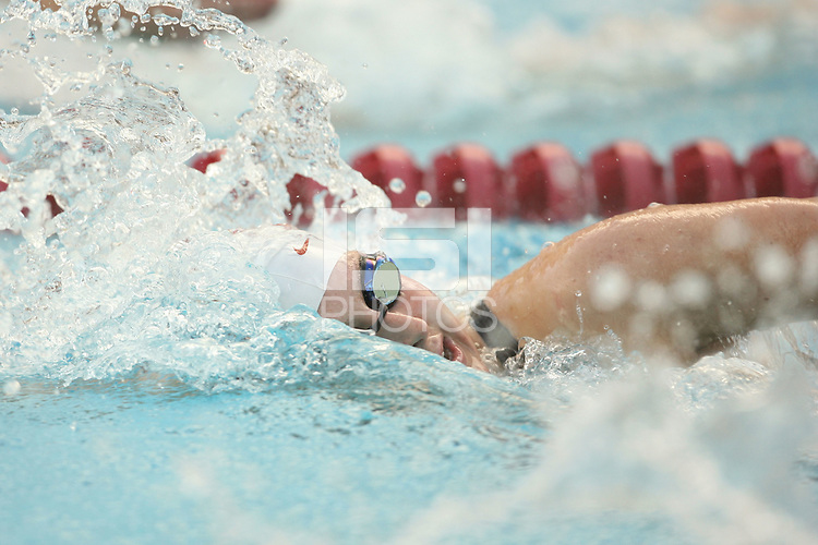 STANFORD, CA - JANUARY 22:  Kelsey Ditto of the Stanford Cardinal during Stanford's 173-125 win over Arizona on January 22, 2010 at the Avery Aquatic Center in Stanford, California.