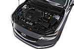 Car stock 2019 Mazda Mazda6 Sport 4 Door Sedan engine high angle detail view