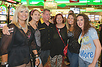 Left to right: Kristine Blackman, Jade Lascelles, John Lascelles, Janine Lascelles, Andrea Kidd and Jenna Gmndogan travelled from Albuquerque, Las Vegas and Boulder to attend the Billy Idol Concert in the Grand Sierra Resort's Grand Theatre on Friday night, August 7, 2015.
