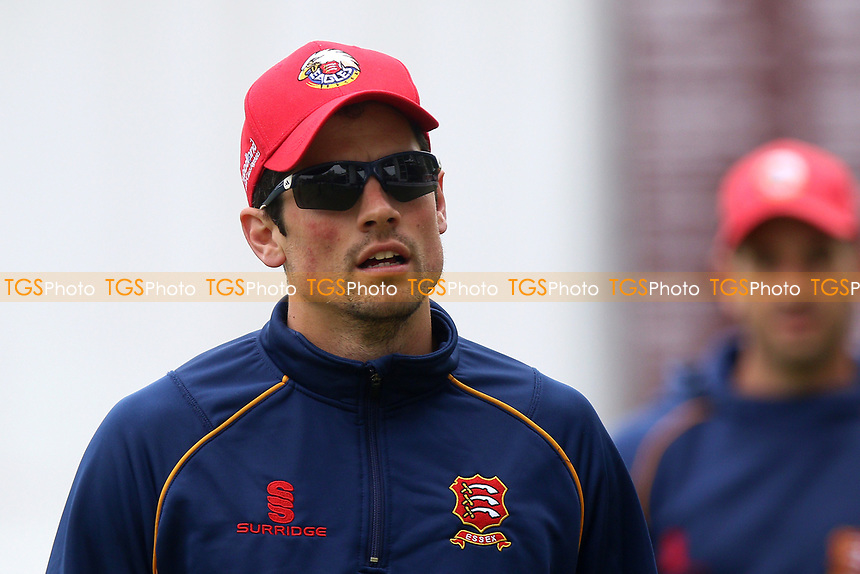 Alastair Cook of Essex looks on ahead of Middlesex CCC vs Essex CCC, Specsavers County Championship Division 1 Cricket at Lord's Cricket Ground on 21st April 2017