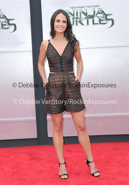 Jordana Brewster attends The Paramount Pictures and Nickelodeon Movies Los Angeles premiere of TEENAGE MUTANT NINJA TURTLES at the Regency Village Theater in Westwood, California on August 03,2014                                                                               © 2014 Hollywood Press Agency
