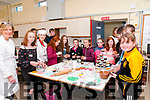 Colaoste Na Riochta Open Day: Prospective new students to Colaoste Na Riochta, Listowel viewing some of the pastry in the home economics room at the college on Saturday during open day.