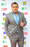 03/06/2014  <br /> Cian Healy<br /> during the Pride of Ireland awards at the Mansion House, Dublin.<br /> Photo: Gareth Chaney Collins