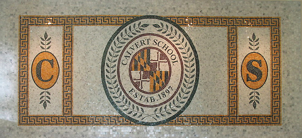 Calvert School emblem<br />