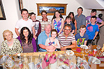 Bart Howard, Leith, Tralee celebrating his 50th Birthday with family at Bella Bia on Saturday