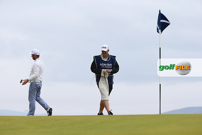 Andy Sullivan (ENG) on the 12th during Round Three of the 2016 Aberdeen Asset Management Scottish Open, played at Castle Stuart Golf Club, Inverness, Scotland. 09/07/2016. Picture: David Lloyd | Golffile.<br /> <br /> All photos usage must carry mandatory copyright credit (&copy; Golffile | David Lloyd)