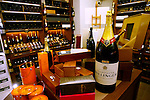 PARIS - FRANCE - 15 APRIL 2004--The fine food shop Fauchon at Place de la Madeleine. Champagne department.-- PHOTO: ERIK LUNTANG / EUP-IMAGES