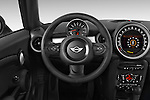 Car pictures of steering wheel view of a 2015 MINI Mini Cooper 2 Door Coupe Steering Wheel