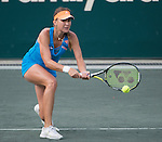 Belinda Bencic (SUI) defeats Sara Errani (ITA), 4-6, 6-2, 6-1at the Family Circle Cup in Charleston, South Carolina on April 4, 2014.