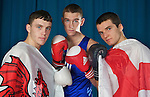 Pix: Shaun Flannery/shaunflanneryphotography.com...COPYRIGHT PICTURE>>SHAUN FLANNERY>01302-570814>>07778315553>>..27th October 2010............GB Boxing, English Institute of Sport, Sheffield..L-R Fred Evans, Callum Smith, Antony Fowler