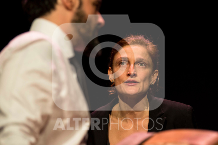 Liberto Rabal and Adriana Davidova during the theater play of &quot;Hacia el amor&quot; at Teatros Luchana in Madrid, March 01, 2016<br /> (ALTERPHOTOS/BorjaB.Hojas