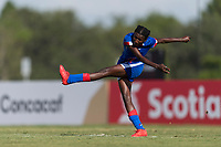 Bradenton, FL - Sunday, June 10, 2018: Rachelle Caremus during a U-17 Women's Championship match between the United States and Haiti at IMG Academy.  USA defeated Haiti 3-2 to advance to the finals.