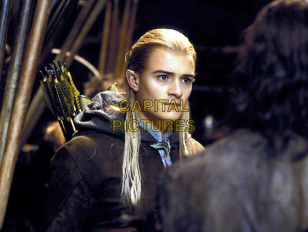 ORLANDO BLOOM.in The Lord of the Rings: The Two Towers.Filmstill - Editorial Use Only.Ref: FBAW.www.capitalpictures.com.sales@capitalpictures.com.Supplied By Capital Pictures.