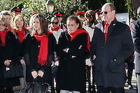 Prince Albert II of Monaco, Princess Stephanie & daughter Pauline Ducruet - Operation FightAids