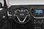 Car pictures of steering wheel view of a 2017 Volkswagen Cherokee Trailhawk 4X4 5 Door SUV