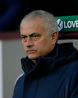 7th March 2020; Turf Moor, Burnley, Lanchashire, England; English Premier League Football, Burnley versus Tottenham Hotspur; Tottenham Hotspur manager Jose Mourinho as Spurs go behind
