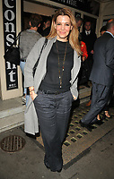 Linda Papadopoulos at the &quot;Consent&quot; press night, The Harold Pinter Theatre, Panton Street, London, England, UK, on Tuesday 29 May 2018.<br /> CAP/CAN<br /> &copy;CAN/Capital Pictures
