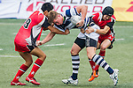 Shandong vs Natixis HKFC during the 2015 GFI HKFC Tens at the Hong Kong Football Club on 26 March 2015 in Hong Kong, China. Photo by Juan Manuel Serrano / Power Sport Images