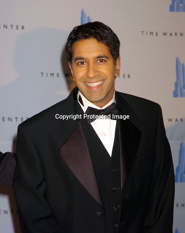 Sanjay Gupta ..at the Grand opening of the Time Warner Center in New York City on February 4, 2004. Photo by Robin Platzer, Twin Images
