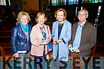 Kate Fitzgerald (Tralee), Ann Hannon (Tralee), Marie and Francie McSwiney (Tralee) attending the annual Easter concert in aid of Recovery Haven Kerry in St Brendans Church on Sunday evening
