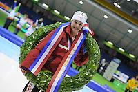 SCHAATSEN: HEERENVEEN: Thialf, KPN NK Allround, 05-02-2012, Nederlands allroundkampioene, Marrit Leenstra, ©foto: Martin de Jong