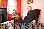 Breda Joy with Fr Raymond A Browne, a parish priest in Co Roscommon, has been appointed Bishop of Kerry.
