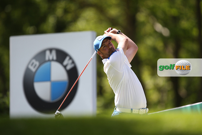 Ian Ellis (ENG) during Round One of the 2015 BMW PGA Championship over the West Course at Wentworth, Virginia Water, London. 21/05/2015 Picture David Lloyd, www.golffile.ie.