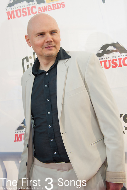 Billy Corgan of Smashing Pumpkins attends the 2014 AP Music Awards at the Rock And Roll Hall Of Fame and Museum at North Coast Harbor in Cleveland, Ohio.