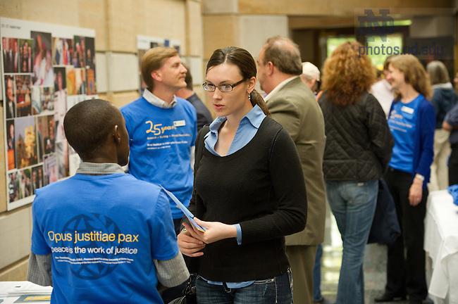 June 1, 2012; Kroc Institute reunion event..Photo by Matt Cashore/University of Notre Dame