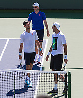 NOVAK DJOKOVIC (SRB), JUAN MARTIN DEL POTRO (ARG)<br /> <br /> BNP PARIBAS OPEN, INDIAN WELLS, TENNIS GARDEN, INDIAN WELLS, CALIFORNIA, USA<br /> <br /> &copy; TENNIS PHOTO NETWORK