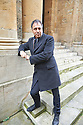 Anthony Horowitz writer , Novelist  at The Sheldonian Theatre at The Oxford  Literary Festival   2013. Credit Geraint Lewis