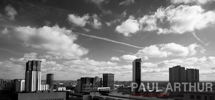 The Birmingham Skyline