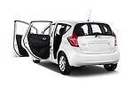 Rear three quarter door view of a 2013 Nissan NOTE 5 Door Hatchback 2WD
